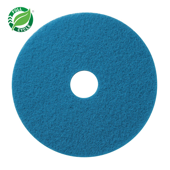 14″ FLOOR PAD BLUE CLEANING – 5/CS