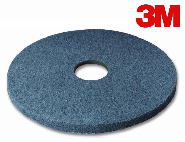 14″ 3M FLOOR PAD BLUE CLEANING – 5/CS