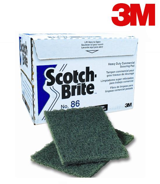 # 86 ULTRA RESISTANT SCOURING PAD 6″ X 9″ – 12/BTE