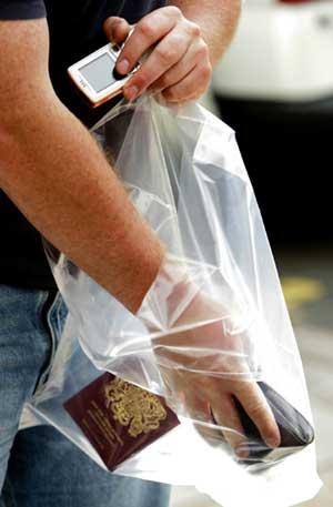 FLAT BAGS FDA – 8″ X 20″ X 1 MIL, CLEAR – 2500 /CS