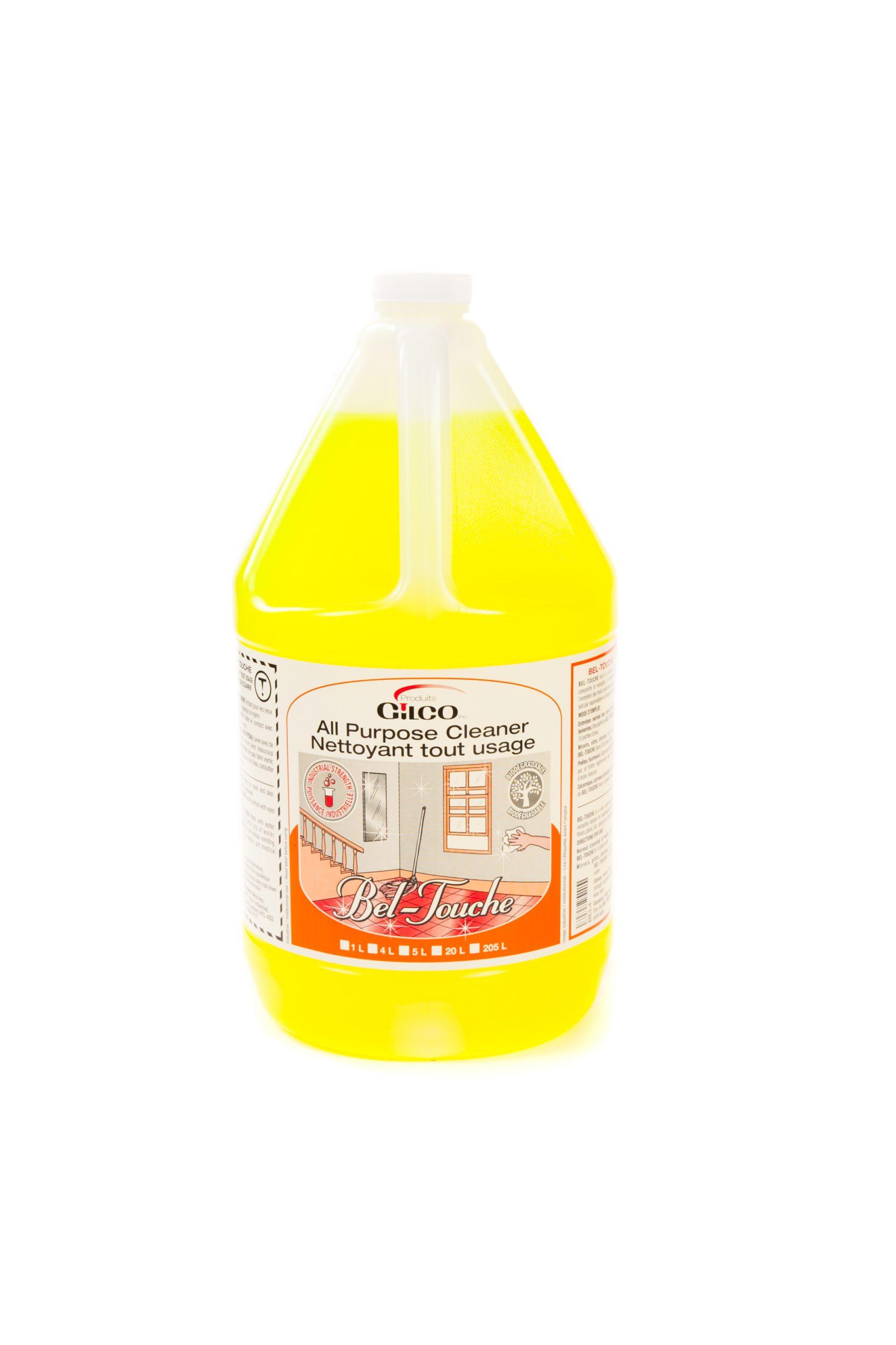 BEL-TOUCHE BIODEG.ALL-PURPOSE CLEANER – 4 X 4 LT /CS