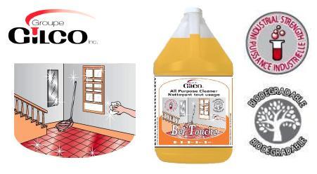 BEL-TOUCHE BIODEG.ALL-PURP CLEANER ORANGE – 20 LT