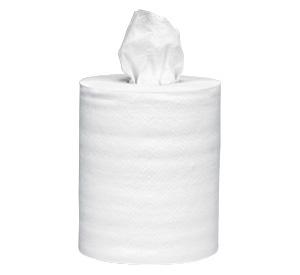 HAND PAPER CLASS CENTER PULL #990 1 PLY WHITE – 6 RL/CS