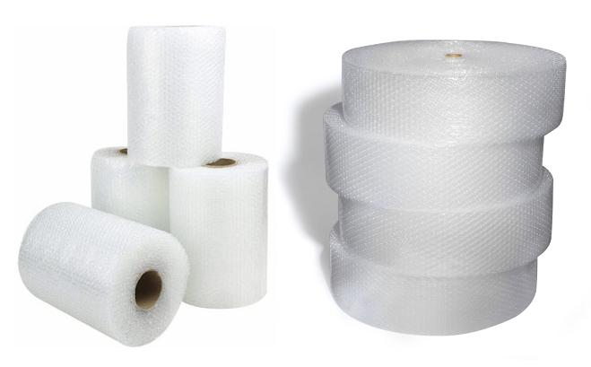 48″ X 250′ X ,5″ POLY BUBBLE WRAP ROLL CUT AT 24″