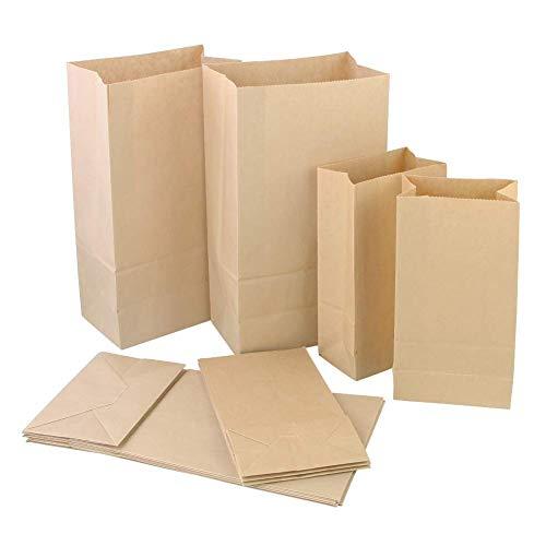 # 1/2 KRAFT PAPER BAGS – 500 /PKG