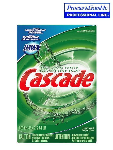 CASCADE POWDER DISHWASHING DETERGENT – 6 X 2.8 KG /CS