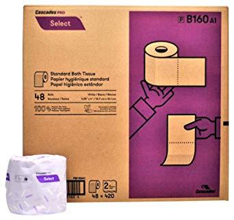 TOILET PAPER CLASSIQUE 2 PLY 420 SH – 48 RL/CS