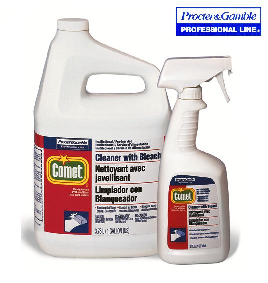 COMET ALL-PURPOSE CLEANER WITH BLEACH – 8 X 945 ML /CS