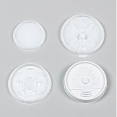 PLASTIC COVER FOR 10 OZ COFFEE CUPS – 1000/CS