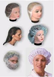 4585 HAIR NETS 21″ WHITE FOR DUST – WRAP IND. – 144/BOX