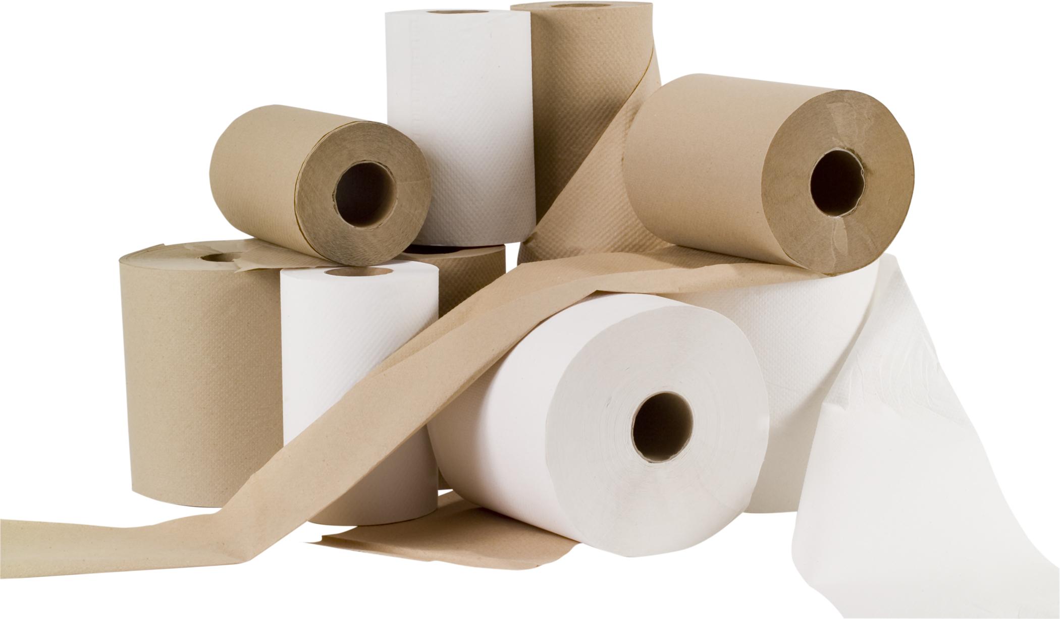 HAND PAPER CLASS JUMBO 8″ RL 800′ WHITE – 6 RL/CS