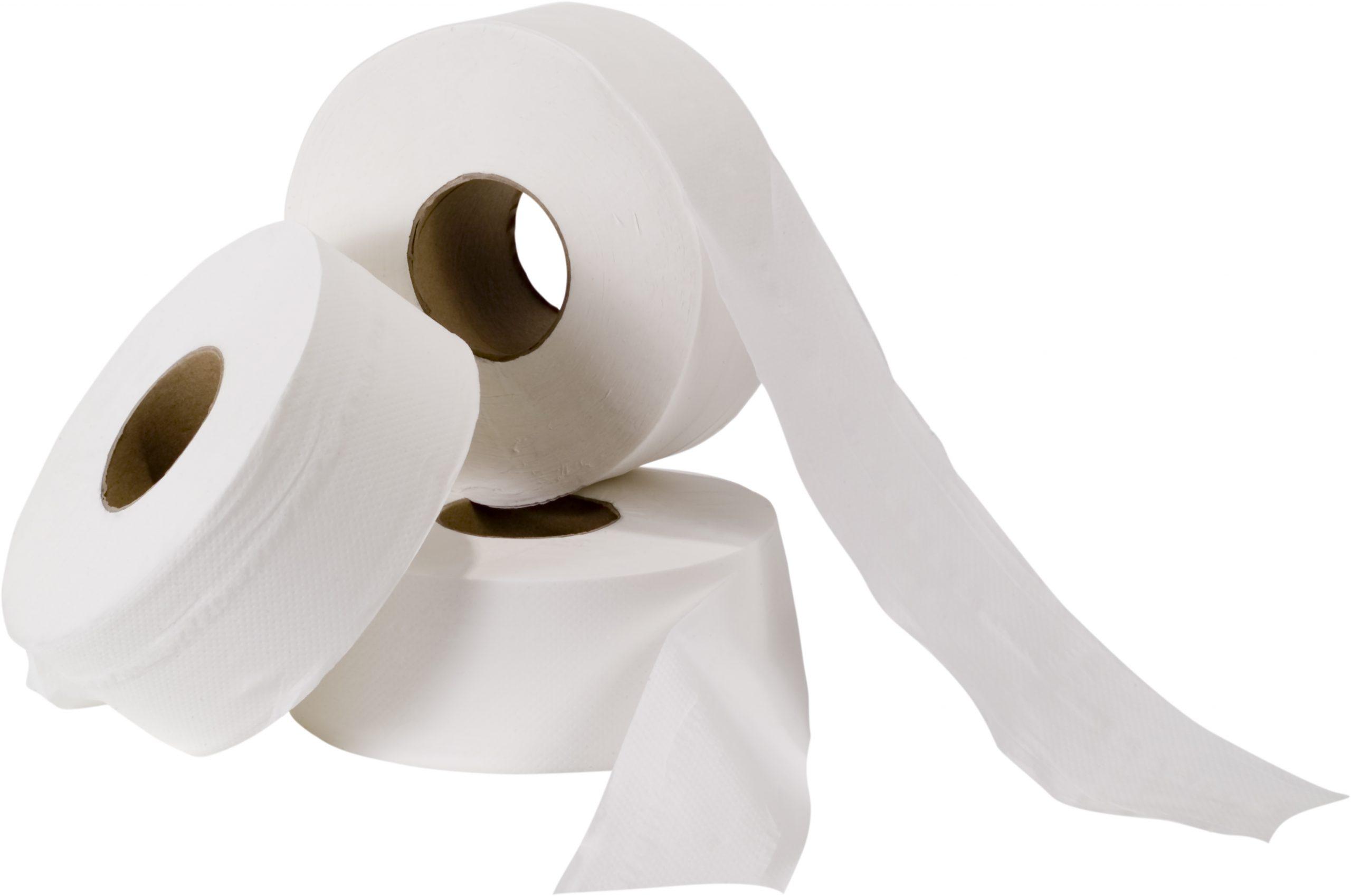 TOILET PAPER CLASSIQUE MINI-JUMBO 2 PLY2.4″ – 8 RL/CS