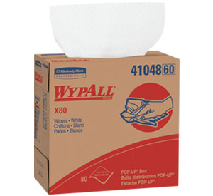 34-120 WHITE WIPES FOR WINDOW – 30 X 280 /CS