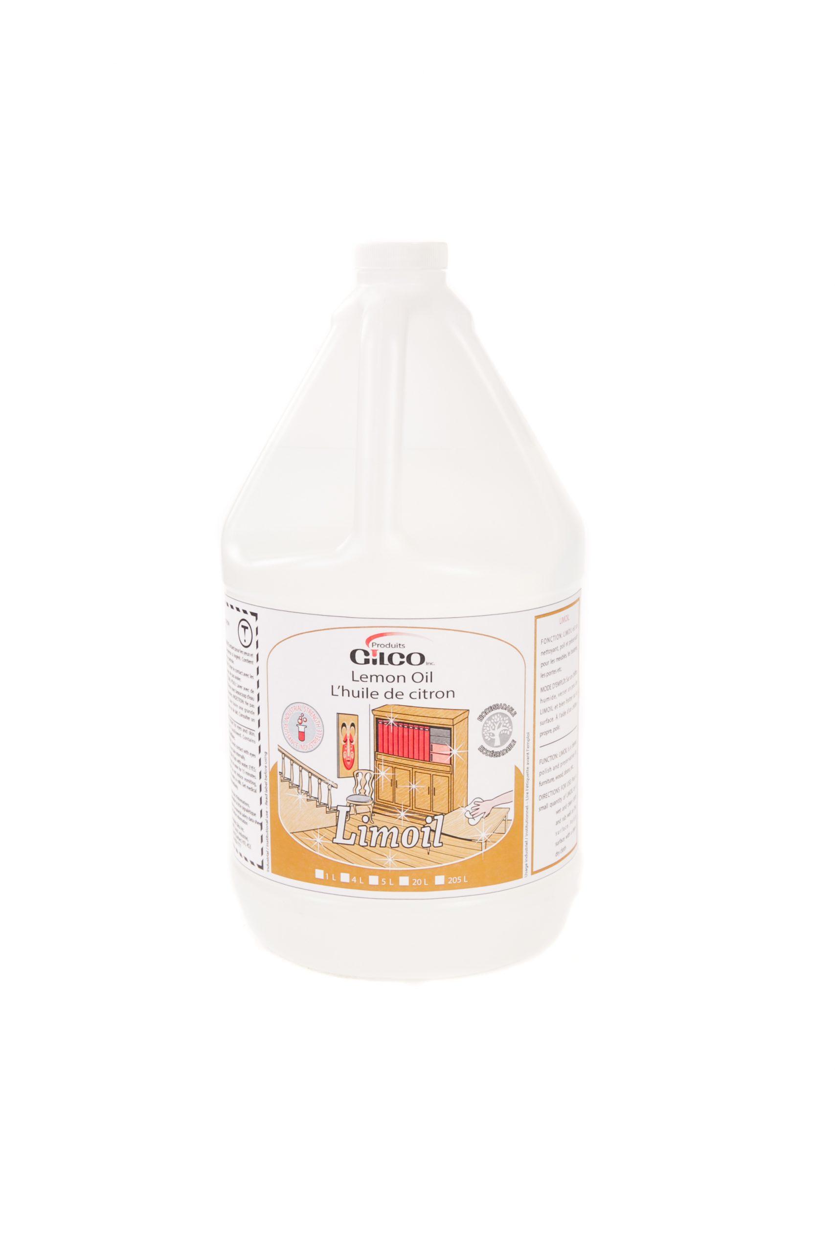 LIMOIL LEMON OIL – 4 X 4 LT /CS
