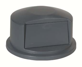 #2647 GREY DOMED LID FOR ROUND CONTAINER 2643 44 GA