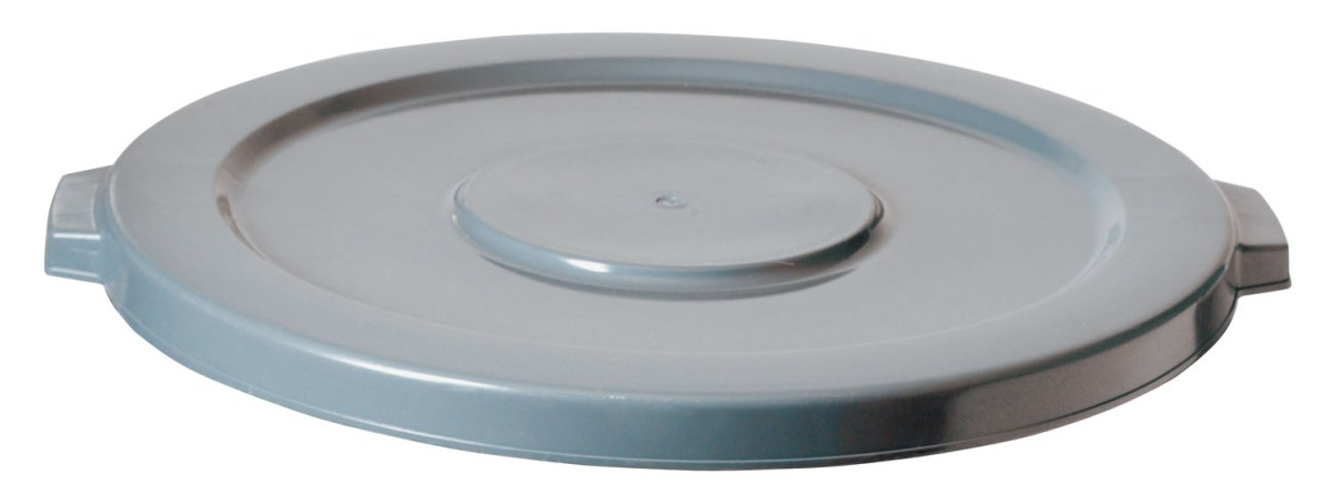 #2654 GREY FLAT LID FOR ROUND CONTAINER 2655 55 GA