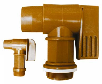 1″ VALVE RESISTANT TO CHEMICAL PRODUCTS FOR BARREL