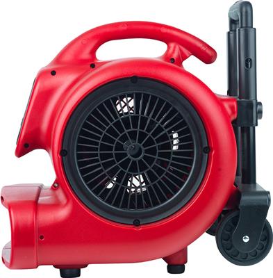 # 6052 COMMERCIAL VENTILATOR W/WHEELS 3 SPEED MOT/,5 HP