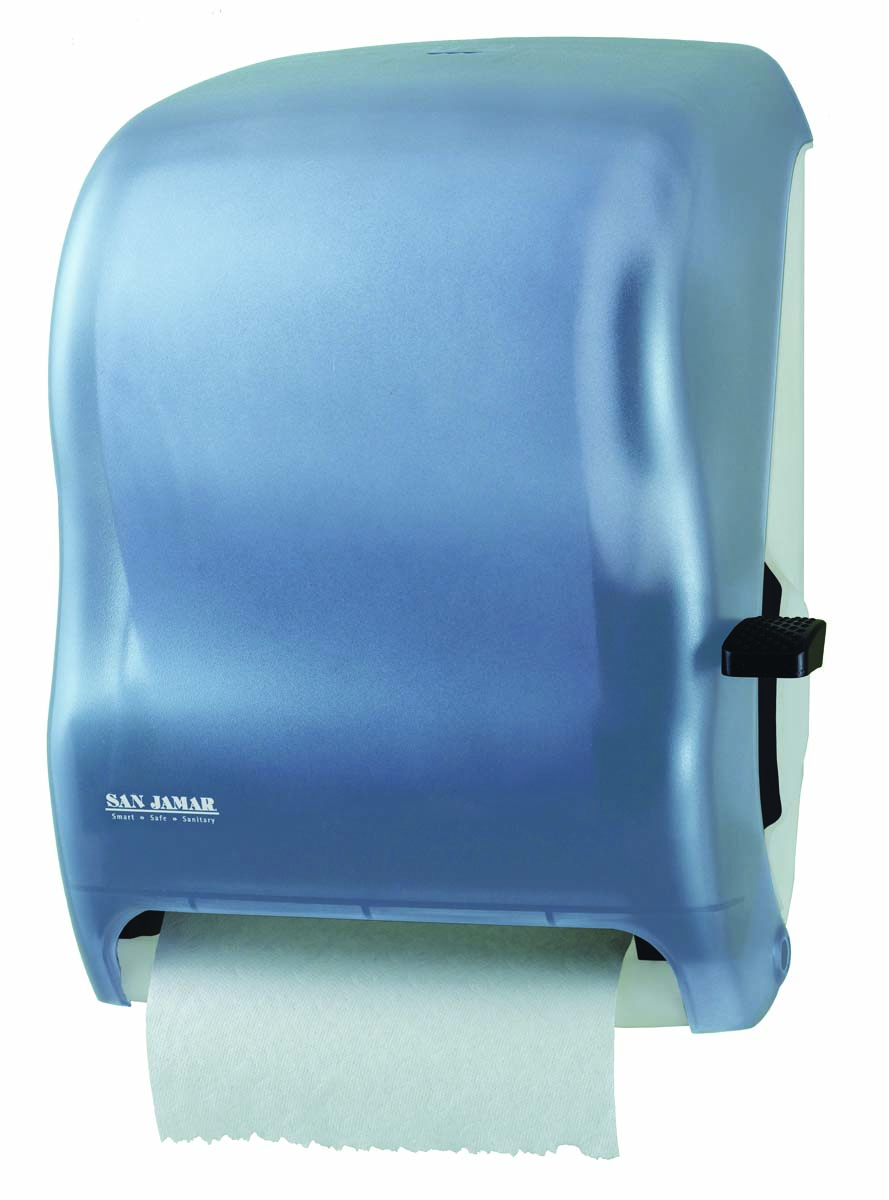 LEVER ROBUST HAND PAPER DISPENSER CONTR DELIVERY, BLUE