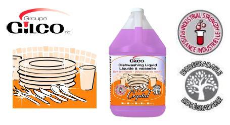 CRYSTAL PINK LIQUID DISHWASHING DETERGENT- 12 X 1 LT/CS