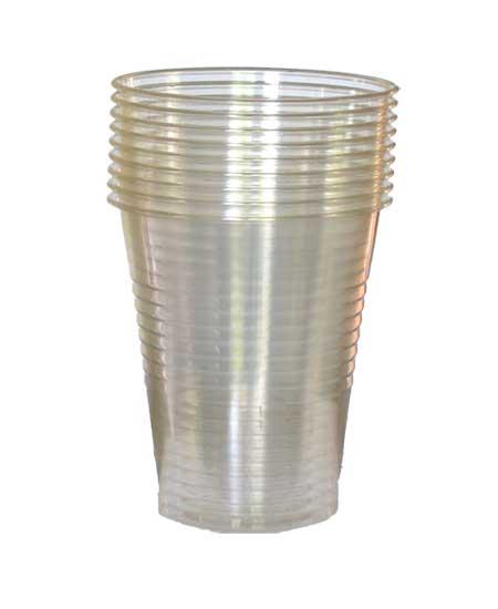 12 OZ CLEAR PLASTIC CUPS – 1000/CS
