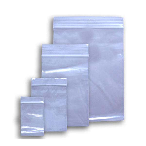 12″ X 15″ ZIPPER BAGS WHITE BLOCK – 1000/CS